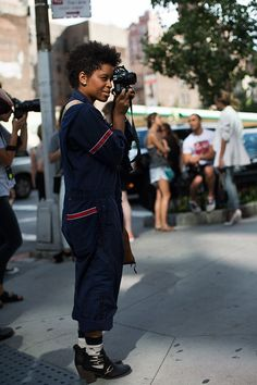 On the Street… Tenth Ave, New York/The Sartorialist