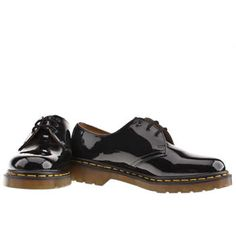 Finally mine..I've waited 20yrs to own a pair! Women's Black Dr Martens 1461 Shoe Patent at schuh