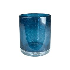 Blue Glass Tumblers - 8