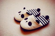 Image via We Heart It https://weheartit.com/entry/69540728/via/22628303 #alternative #animals #cute #Dream #fashion #kawaii #love #panda #shoes #style #teenager #pantufa