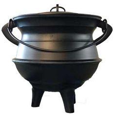 18 Aluminum Cauldron W- Lid