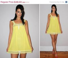 yellow nightgowns Sexy
