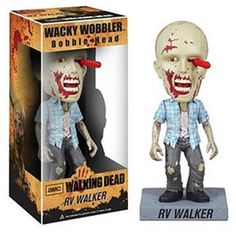 RV Walker is perhaps one of the most famous of all Zombies. That screwdriver sticking out of his face really gives him an edge in the arena of fan appeal. From a great episode, it's nice to see him fe