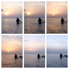 Las puestas de sol en el paraíso / The sunsets in paradise