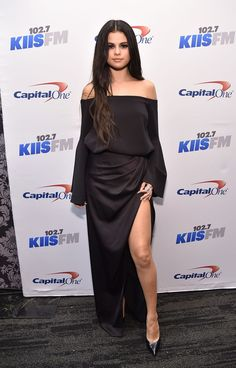 Selena Gomez at 102.7 Kiis FM's Jingle Ball 2015 in Los Angeles