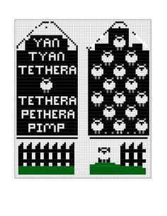 Bilder på veggen til felleskapet   VK Knitted Mittens Pattern, Fair Isle Knitting Patterns, Knitting Charts, Knit Mittens, Knitting Stitches, Knitting Socks, Hand Knitting, Tapestry Crochet, Crochet Chart