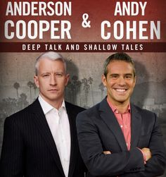 Don't miss an intimate evening with Anderson Cooper & Andy Cohen on Mar. 12. http://sbseasons.com/2016/03/ac2-an-intimate-evening-with-anderson-cooper-andy-cohen/ #sbseasons #sb #santabarbara #SBSeasonsMagazine #AndersonCooper #AndyCohen To subscribe visit sbseasons.com/subscribe.html