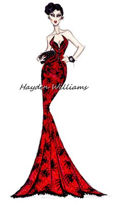 Creepy Couture by Hayden Williams: The Black Widow
