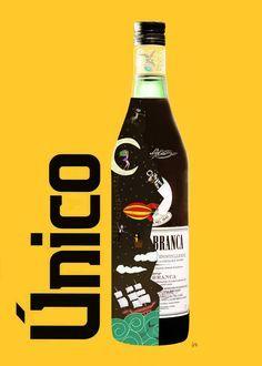 Afiche para el concurso Arte Unico de Fernet Branca