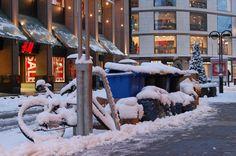 Winter in Düsseldorf, Schadowstraße