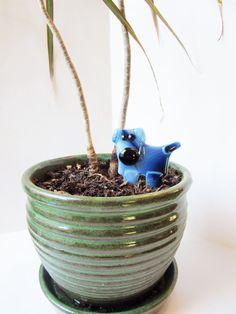 Chien amoureux planteur décoration cadeau pour par LaRocheStudios