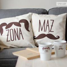 Zestaw poszewek Mąż/Żona. Do domu lub na ślub. http://www.spodlady.com/prod_18711_Zestaw_poszewek_Maz_%2B_Zona.html