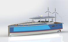 MC54E carbon open electro boat