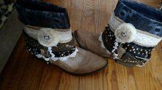 My BOHO boots I made myself