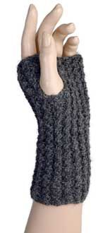 I made gloves like this but out of old sweaters that I felted.  Embroidered the hems and felted on designs.
