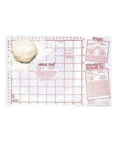 Take a look at this Pastry Cutting Mat