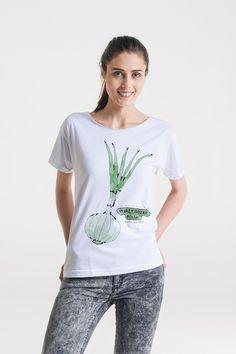 bluzki - t-shirty - damskie-SZCZYPIOREK Oversize T-shirt