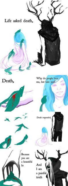 Life and Death… Three feels man The feeeeelllssss!!!!