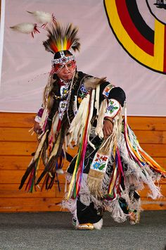 Native Americans Indians Grass dancer