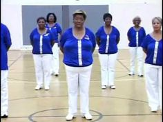 """▶ I Blame You Line Dance created by Akili McLamore with Seniors In Motion. Song by Ledisi """"I Blame You - YouTube"""
