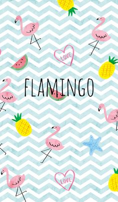 It is a fashionable theme of flamingo. Flamingo's pink and blue border are refreshing. For those who like beach, ice, heart, watermelon