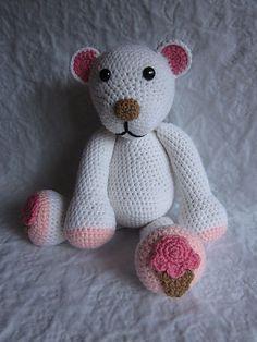Ravelry: Ice Cream Polar Bear pattern by Melissa Trenado