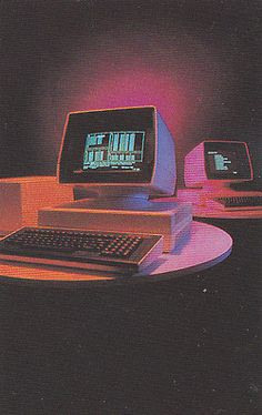 Find images and videos about vintage, grunge and aesthetic on We Heart It - the app to get lost in what you love. Retro Kunst, Retro Art, Retro Vintage, Vaporwave, Alter Computer, Pc Computer, Plakat Design, 80s Aesthetic, Purple Aesthetic