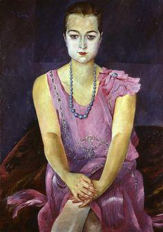 Conrad Felixmüller, Bildnis Jutta Kirchhoff, 1928