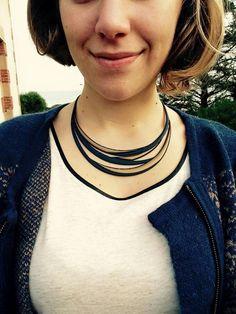 Modèle #swell de #batucada  #collier #bijoux #ecofriendly