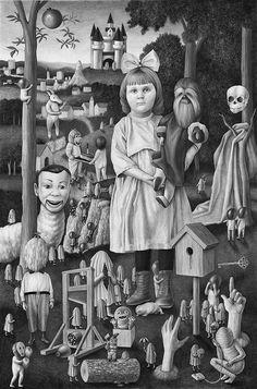 Amandine Urruty - Doll Diptych Part 2