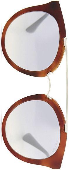 PRADA Pr23ss round-frame sunglasses