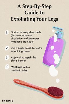Exfoliate Legs, How To Exfoliate Skin, Skin So Soft, Smooth Skin, How To Do Facial, Becoming An Esthetician, Beauty Tips, Beauty Hacks, Nice Face