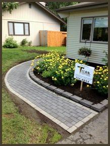 Pavers and Natural Walkways Paver Walkway, Top Soil, Outdoor Living, Outdoor Decor, Alaska, Deck, Patio, Landscape, Nature