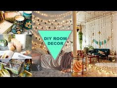 DIY Room Decor! 20 DIY Room Decorating Projects 🌟 - YouTube