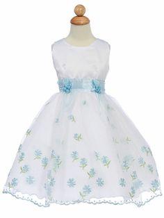 Blue Flower Girl
