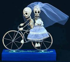 Sugar skull wedding