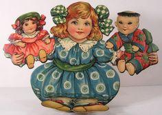 Lovely Louise, paper doll, Raphael Tuck
