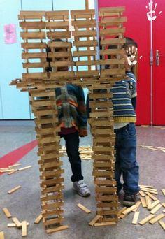 Enfants (pas si) sages - Page 4 - Enfants (pas si) sages Genius Hour, Montessori, Construction, School, Kids, 4 Kids, Cooperative Games, Homes, Building