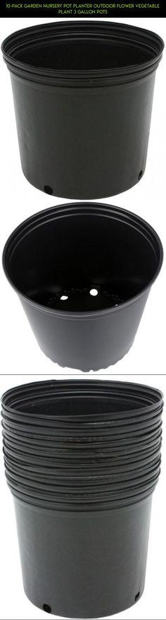 10-Pack Garden Nursery Pot Planter Outdoor Flower Vegetable Plant 3 Gallon Pots #technology #products #camera #fpv #drone #racing #shopping #gadgets #gardening #pots #plans #tech #kit #parts