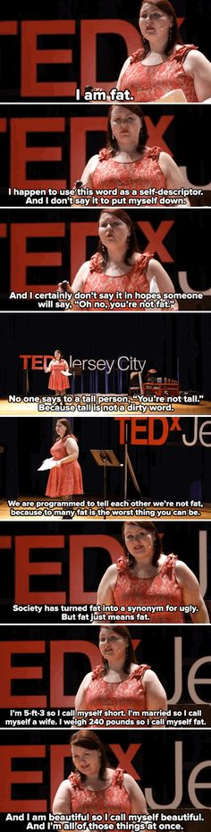 THIS. IS. EVERYTHING.  Lillian is a burlesque dancer and her TEDx talk nails the key to positive body image.
