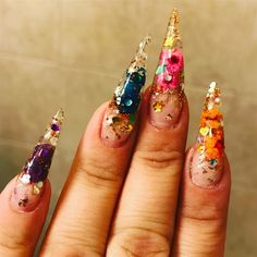 39 Best Embedded Nail Art Images In 2019 Nails Magazine Nail Art