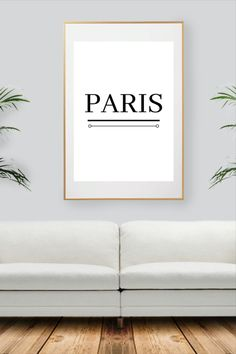 Black And White Wall Art, Paris City, City Art, Decoration, All Print, Prints, Etsy, Collection, Decor