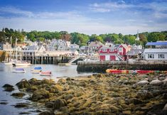 Beautiful Places To Visit, Beautiful Beaches, Amazing Places, England Beaches, Pokemon, Small Town America, New England Travel, Seaside Towns, Beach Town