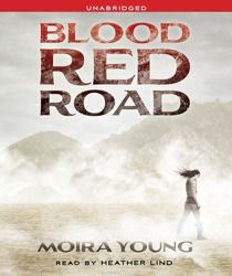 Reading Teen: Audiobook Review: Blood Red Road by Moira Young
