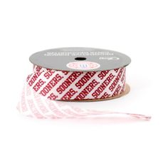 UNIVERSITY OF OKLAHOMA RIBBON GIFT WRAP RIBBONOKLAHOMA SOONERS CRAFT RIBBON78 WIDTHNCAA RIBBON * You can find more details by visiting the image link.Note:It is affiliate link to Amazon.