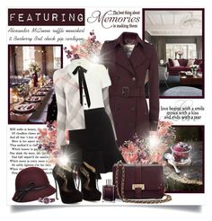 """The best thing about memories is making them..."" by mrstom ❤ liked on Polyvore featuring BYRON, Burberry, River Island, Alexander McQueen, MIA and Juliette Has A Gun"