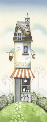 Picture of The Coffee Shop by Gary Walton