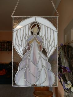 Custom stained glass done in Huntington Indiana. someone special