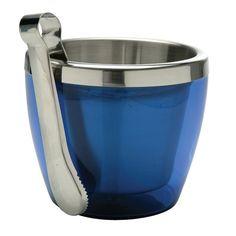 Utilar Presentes - http://www.utilarpresentes.com.br/1523/balde-gelo-com-pegador-azul-ac11