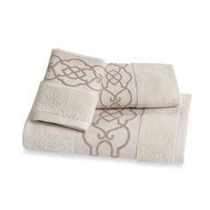 Iron Gates Hand Towel - BedBathandBeyond.com